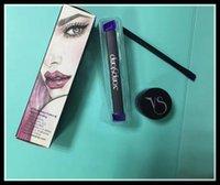 Wholesale Eye Eyeliner Gel Cosmetics - The Vamp stamp seals Eyeliner with Gel beauty Eyes Liner Whole set makeup tools Cosmetics 3pcs set Vavavoom Medium Large