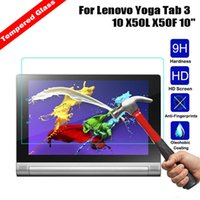 ipad clear schirmabdeckungen großhandel-Explosionssicheres gehärtetes Glas für Lenovo Yoga Tab 3 10 X50L X50F X50M Film Clear Screen Protect Cover Guard