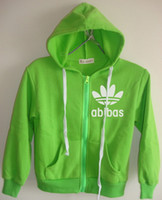 Wholesale Boys Children Track Suit - Hot New children hooded jacket Sport clothes Track suits Jacket boys girls hoodies 100 110 120 130 140