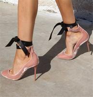 e4efe642 zapatillas de ballet de encaje negro al por mayor-Zapatos de fiesta de boda  para