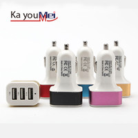 Wholesale One Piece Ipad - Wholesale-High Quality Micro Auto Universal Dual USB Car Charger For iPad iPhone 5V 2.1A Mini Adapter Short Circuit Protection One Piece