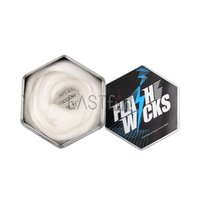 Flash Wicks organic fibers - Cotton Flash Wicks Cottons Fabric For DIY RDA RBA Atomizer Coil Build Wicking Natural Organic Fibers Wick E Cigarette RDA Cotton