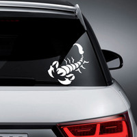 Wholesale Tribal Material - Personality SCORPION Vinyl Sticker Car Window Wall Bike Tribal Insect
