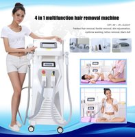 Wholesale Ipl Rejuvenation - Powerful 4 In 1 Opt+rf+laser +ipl Shr Skin Rejuvenation Tattoo Hair Removal Machine