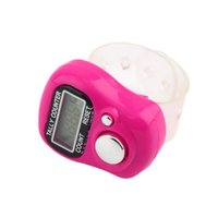 Wholesale Counter For Finger - Wholesale- Hot LCD Electronic Digital Golf Finger Hand Held Tally Counter musabah hatim tasbih for muslim Counter