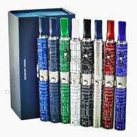 Wholesale Box Weeding - Popular In USA Herbal Vaporizer Dry Herb Snoop Dog Pen Ecigarette Glass Atomizer Ecig Vape Band SNOOP DOGG Wee Vaproizer Box Kit Hot Sell