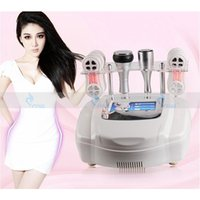 Wholesale Laser Anti Cellulite - 2017 NEW cavitation rf slimming machine 80K ultrasonic fat burning radio frequency fat dissolved cold laser anti cellulite machine