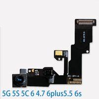 iphone gesichtssensor großhandel-Hohe Qualität Vorne Kamera Proximity Lichtsensor Flex Flachbandkabel iPhone 5/5 s / 5c 6/6 Plus 6 s / 6 S plus