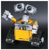 Wholesale Robot Building Kits - Lepin 16003 Idea Robot WALLE Building Set Kits Bricks BlocksBringuedos 21303