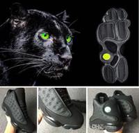 en iyi siyah fırsatlar toptan satış-13 Black Cat En İyi Jumpman Deal 13 Siyah Cuma Basketbol Ayakkabı Erkekler Kutusu Ile Erkekler