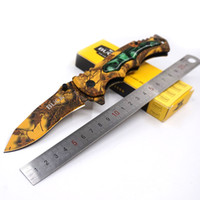 Buck Knife X54 Multifuncional Faca Suiça 3Cr13 Aço inoxidável Multi Purpose Army Folding Pocket Knife Outdoor Camping Survival EDC Tools