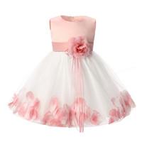 Wholesale Enfant Lace Dresses - Robe fille enfant Toddler kids tutu dresses for girls clothes princess party dress girl children clothing kids dress for girls