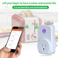 1PIECS !! Smart Wifi Netzstecker Adapter Mini Smart Sockel Fernbedienung Intelligente EU UK US Stecker Smart Gerät Mit CE FCC RoHS