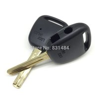 Wholesale Two Button Remote Car Shell - 20pcs lot 2 Button Remote Control Key Shell For Toyota Car Key Cover Fobs TOY48 blade remote key shell with two holes on the side