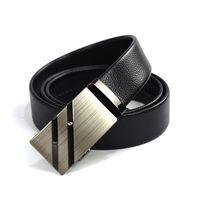 Wholesale Leather Cummerbund Belt - Automatic Belts For Men Cummerbunds High Quality Male Belt Business Formal Waist Belt 110-130cm