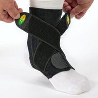 Wholesale Foot Stabilizer - New Adjustable Sports Safety Neoprene Ankle Brace Support Stabilizer Foot Wrap Ankle pads protectors Sports Safety Helthy accessory