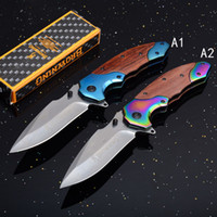 Wholesale browning quick opening knives for sale - Browning Quick open Tactical Folding Knife Outdoor Camping Survival Pocket EDC Military Folding Knife