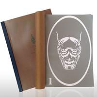 Wholesale Tattoo Stencil Design Books - Wholesale-20 Designs Temporary Airbrush Tattoo Stencil Book Airbrush stencils Template Booklet Book 20