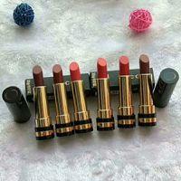 Wholesale Dark Red Matte - Gu Dark Color Matte Lipstick Long-lasting lipstick Famous Brand 3.5g