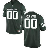 Football Men Short Mens Michigan State Spartans Custom College Football  Limited Jerseys  8  24 dd4f08376513f