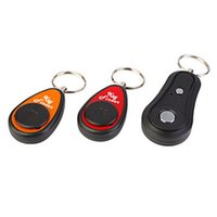 Wholesale Transmitters Receivers Finder - RF2 Smart Remote Wireless Key Finder with LED Flashlight, 1 RF Transmitter and 2 Receivers