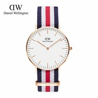 Wholesale white safety pins - Fashion Daniel Watch 40mm men watches 36mm Women Watches Luxury Brand Quartz Watch Female Clock Relogio Feminino Montre Femme