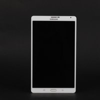 Wholesale Lcd Touch Screen For Tablet - New Samsung Galaxy Tab S SM-T705 LCD Display Tablet Touch Screen Front Scheibe Digitizer White Black