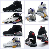 Wholesale Bunny Basketball Shoes - 2017 New Air Retro 8 VIII Men Women Basketball Shoes Many Colors Zapatos Homme Replicas Retros 8s Sports Sneakers Bugs Bunny Playoffs