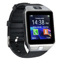 Wholesale Tft Lcd Android - DZ09 Bluetooth Smart Watch 1.54 TFT HD LCD SmartWatch with Camera for Iphone and Android Smartphones support SIM Card