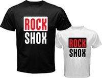 Wholesale Bicycling Sleeves Design - 2017 New Arrivals Men'S Rock Shox Logo Moutain Mtb biker Bicycle Design T Shirt Hot Sales Tops Who Printed Short Sleeve Tees