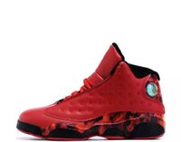 Wholesale Cheap Love Pink - Cheap retro 13 black cat basketball shoes sports What Is Love bred flints playoff grey toe He Got Game mens basket shoes shoe
