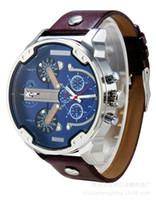 Wholesale Antique Military Buckles - Luxury USA INVICTA Brand Men Full Steel Watch Golden DZ 7333 7312 Antique Male Casual Watches Military Wristwatch Relogio Masculino