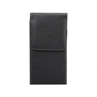 Clip Cinto Holster Couro Para Galaxy S8 G9500, S7 Edge G9250 Vertical Hip Leechee Caso Buckle Flip Capa PU Pouch Belt Purse Buckle Skin Bag