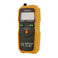 Wholesale Infrared Temp - New K-type LCD Display Digital Thermometer Temp Probe + PU Leather Storage Bag new arrival