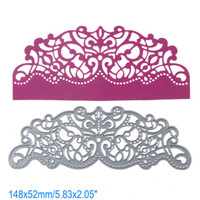 Wholesale Craft Dies - Arc Lace DIY Metal Cutting Dies Stencil Scrapbook Card Album Paper Embossing Crafts