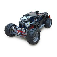Hummer Modèle De Jouet Pas Cher-DECOOL Hummer Building Blocks Technic Transport SUV Racing Car Truck Model Toys Brick Toys For Children Hummer Toys Brick