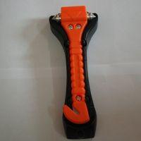 ingrosso kit attrezzo martello-Car Auto Safety Cinture Cutter kit di sopravvivenza Finestra Punch Breaker Hammer Strumento per il salvataggio di emergenza Fuga di emergenza KLQ0003