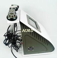 Wholesale Ultrasonic Cellulite Reduction Cavitation - vacuum roller cellulite reduction lipo ultrasonic cavitation slimming machine Radio Frequency vacuum cupping beauty salon use AU-61