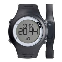 Wholesale Heart Rate Watch Chest Strap - Wholesale- 50 Meter Waterproof Pulsometro Chest Strap Heart Rate Monitor Men Women Heartbeat Pulsometer Running Sports Watches relojes