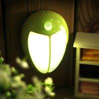 ingrosso fata leggera a letto-Beetle Infrared Human Sensing Luce diurna Regalo Animal Style Aisle Study Comodino Creative Fiaba World 3D Light
