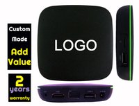 Wholesale Custom H - 10pcs Custom Made 2 years warranty T1 1gb 8gb smart Android streaming tv boxes Quadcore H.265 1080P mxqpro mxq pro m8s t95upro t95