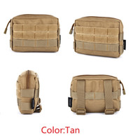 Wholesale Tools Waist Pouch - 600D EDC Tactical Modular Molle Utility Tools Pouch Case Bag