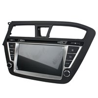 Wholesale grand mp3 resale online - 2016 New Android5 inch Car DVD player for Hyundai I20 left with GPS Steering Wheel Control Bluetooth Radio