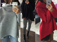 Wholesale Solid Color Polyester Scarves - Raodaren Women Winter Hoodies Scarf Collar Long Sleeve Christmas clothes 2017 New Arrival Fashion Casual Style Autumn Sweatshirts