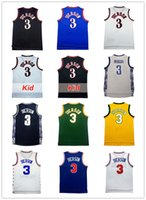 Wholesale Men Throws - cheap allen iverson jersey Embroidery High School throw back High quality Basketball Jerseys Stitched Allen Iverson retro Free Shipping