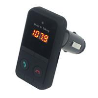 Wholesale transmitter recorder - Wholesale- Malloom 2017 Wireless Bluetooth FM Transmitter Modulator Car Kit MP3 Music Player SD USB LCD support 2 4 8 16GB 32GB SD TF card