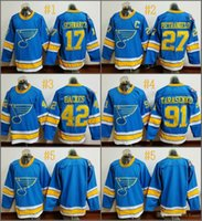 Wholesale St Louis Blues Jaden Schwartz alex pietrangelo Cheap Hockey Jerseys Ice Winter Jersey All Stitched Size