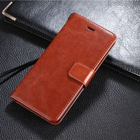 Wholesale Wholesale Photo Frame Stand Backs - For Xiaomi 6 Wallet Leather Case Retro Photo Frame Flip Stand Card Slot Back Cover For Xiao Mi 6
