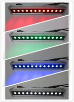 Wholesale Dmx Led Wall Washer Lights - (8 pieces lot) free shipping outdoor wall washer 12x10w rgbw led strip wash light, dmx led wall washer