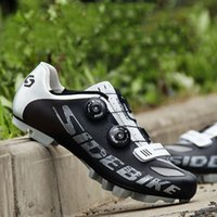 Wholesale Shoes For Bikes - Sidebike Bicycle Shoes For Woemn & Men Locking Bike MTB Bike Cycling Shoes Anti-skid Breathable Self-locking Shoes